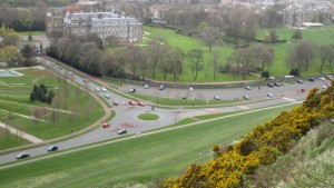 Holyrood park only has one zebra crossing
